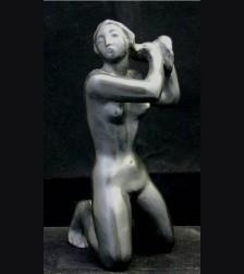 Kniendes Mädchen- Kneeling Girl  ( Arno Breker ) # 1441