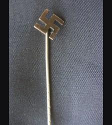 N.S.D.A.P Sympathizer Stickpin-Swastika # 1476
