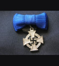 N.S.D.A.P 25 Year Service Cross Miniature # 1494
