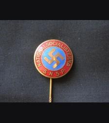 N.S.D.A.P Foriegn Supporter Stickpin ( Sweden ) # 1514
