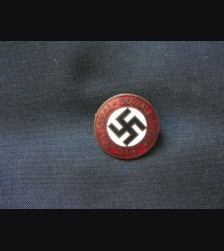 N.S.D.A.P Party Pin- Otto Schickel # 1576