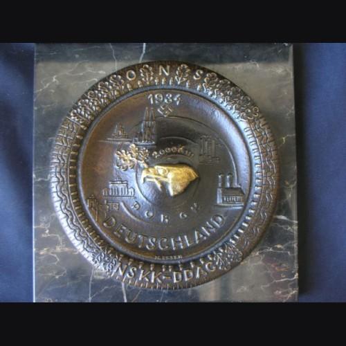 NSKK-D.D.A.C Bronze Desk Piece ( Max Esser ) # 1635