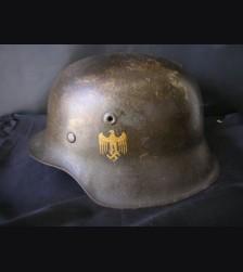 Heer M42 SD Army Helmet # 1647
