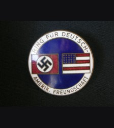 German/ American Friendship Pin  ( CTD ) # 1656