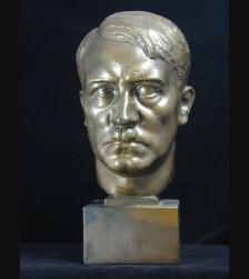 Adolf Hitler Desk Bust- H.M Ley  # 1680