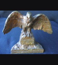Luftwaffe Bronze Desk Eagle  # 1689