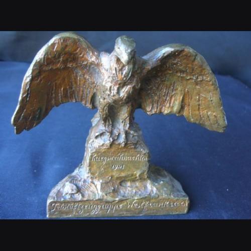 Luftwaffe Bronze Desk Eagle  # 1689