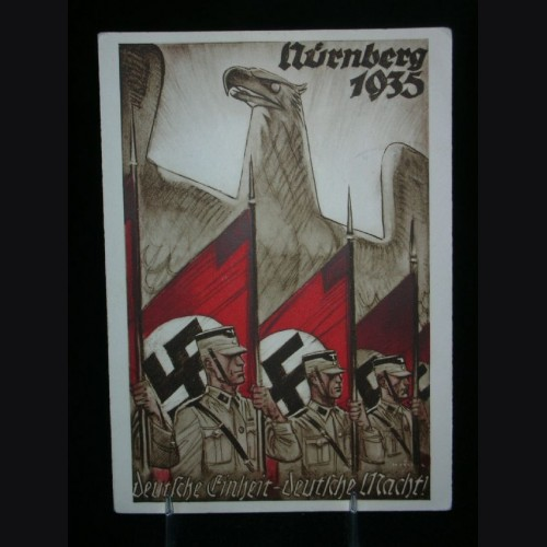 Reichs Party Day Postcard 1935 # 1710