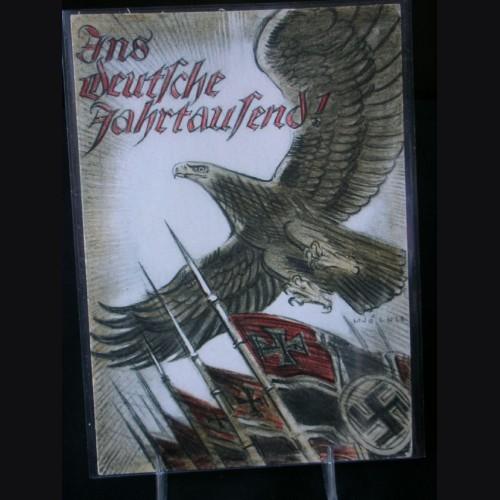Rare Early Political Postcard # 1711