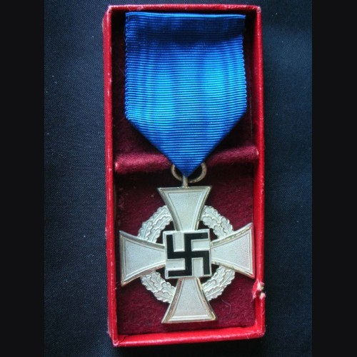 25 Year Civil Sevice Cross- Boxed # 1712