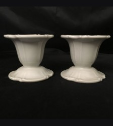 Allach Porcelain Candle Holder Pair # 55 # 1731