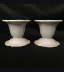 Allach Porcelain Candle Holder Pair # 55 # 1731