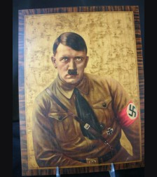 Adolf Hitler Propaganda Wall Plaque # 1732