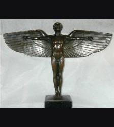 Bronze Icarus- Large Lauchammer Cast ( Peter Breuer ) # 1739
