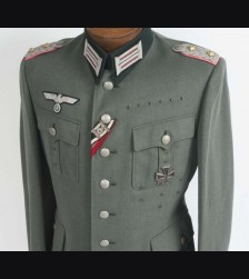 Named Panzer Tunic- Heinrich Becker # 1751