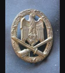 General Assault Badge/ Hollow Back- No Maker # 1774