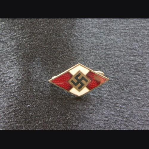 Hitler Youth Diamond Pin # 1788