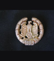 Miniature Gau Wartheland Honor Badge  # 1795