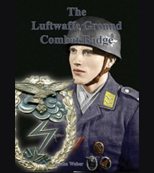 The Luftwaffe Ground Combat Badge # 1822