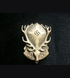 DJ German Hunting Association Badge # 1853