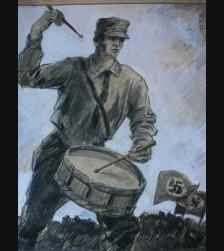 SS Trommler- Albert Reich (1881-1942)  # 1889