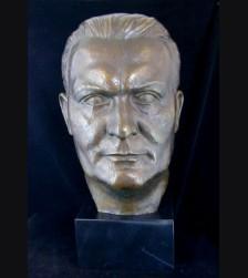 Herman Goring Bronze Bust ( Hans Haffenrichter ) 1897-1981 # 1891
