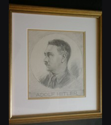 Adolf Hitler Artist Sketch- Albert Reich (1881-1942) # 1901