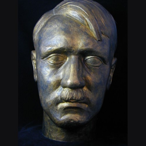 Adolf Hitler Bust 2x Life In Wood  # 1904