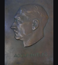 Adolf Hitler Bronze Building Plaque # 1912