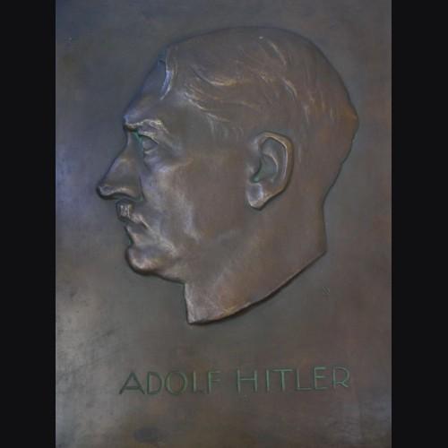 Adolf Hitler Bronze Building Plaque # 1912