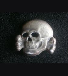 SS Totenkopf Cap Skull- Deschler # 1943