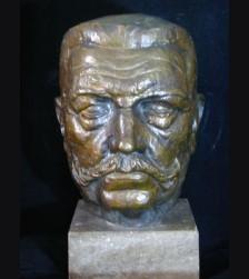 Paul von Hindenburg Life Sized Bust-Hildegard Domizlaff (1898-1987)  # 1945