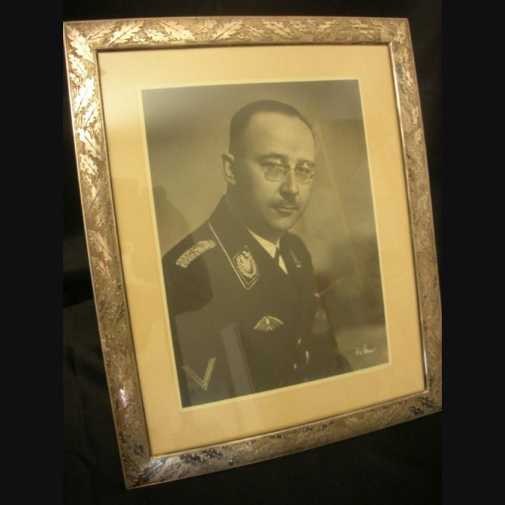 Heinrich Himmler Framed Studio Portrait- Franz Bauer