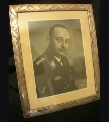 Heinrich Himmler Framed Studio Portrait- Franz Bauer # 1947
