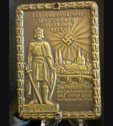 King Heinrich Door Plaque # 1954