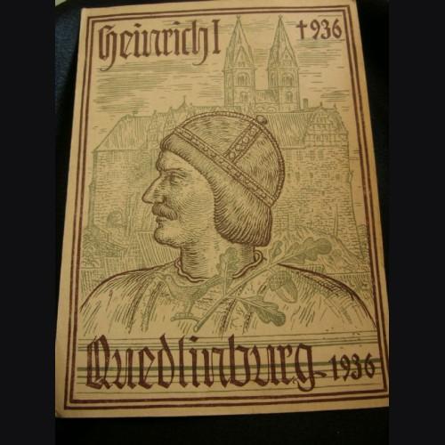 King Heinrich Postcard- Quedlinburg # 1955