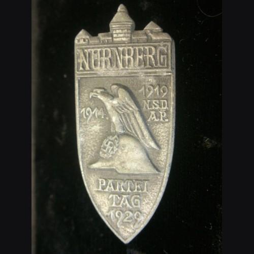1929 Rally Badge- Hoffstatter- Solid Back # 1960