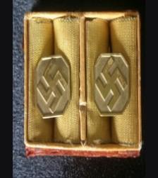 N.S.D.A.P Cufflinks (Boxed) # 1969
