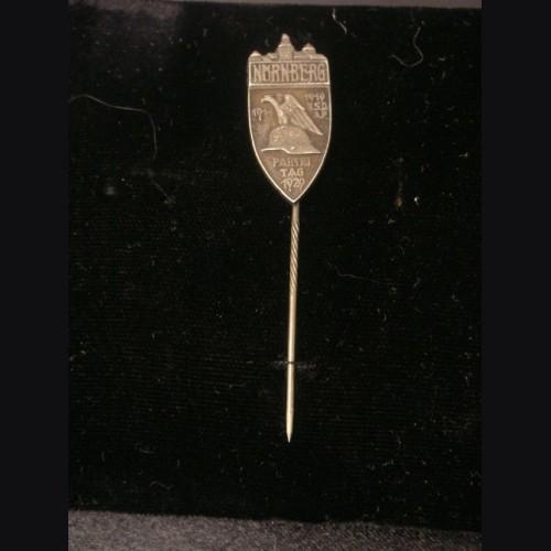 Nuremberg 1929 Rally Stickpin- Ges. Gesch (.800) # 1972