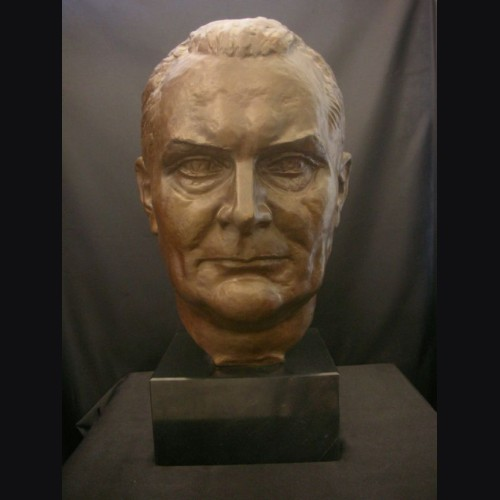 Hermann Goering Bronze Bust 2x Life- (Walther Wolff) 1936 # 1980