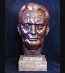 Hermann Goering Bronze Bust 1x Life- (H.J Pagels) # 1981