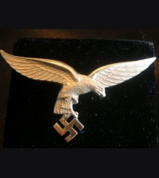 Luftwaffe Breast Eagle- Nickel Silver # 2012