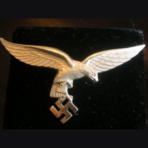 Luftwaffe Breast Eagle- Nickel Silver # 2012