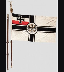 Munich Traditions Flag/ Royal War Flag- Complete