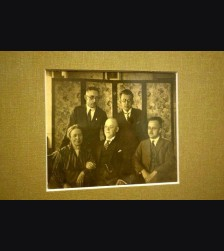Early Heinrich Himmler Family Photo and Calling Card # 2025