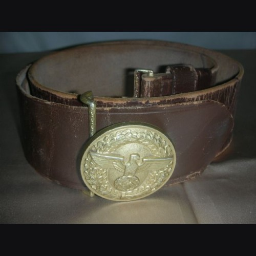 Political Belt and Buckle # 2051