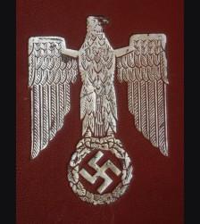 Adolf Hitler Cased Silver Presentation Frame- FHW # 2060