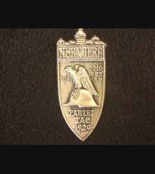 1929 Nuremberg Rally Badge- RZM Variant # 2070