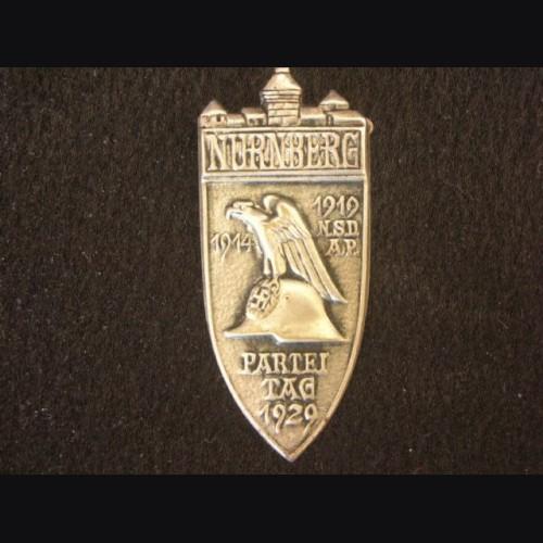 1929 Nuremberg Rally Badge- RZM Variant # 2070