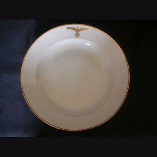 Adolf Hitler Formal Dinner Plate- Deutscher Hof (Nymphenburg) # 2077